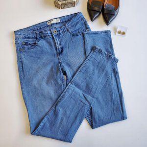 Cotton On Denim Skinny Jeans Medium Wash 8